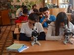 Урок биологии в 7 классе